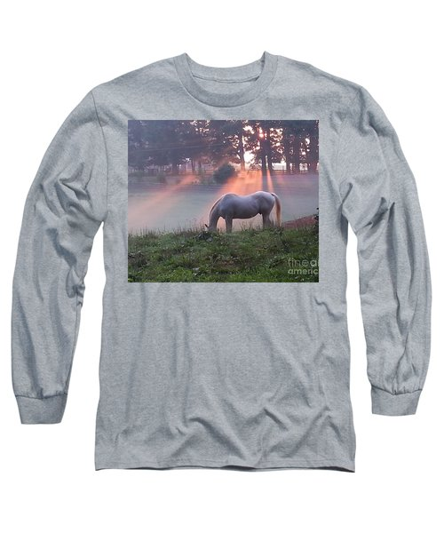 Gitchie And The Sunrise Long Sleeve T-Shirt