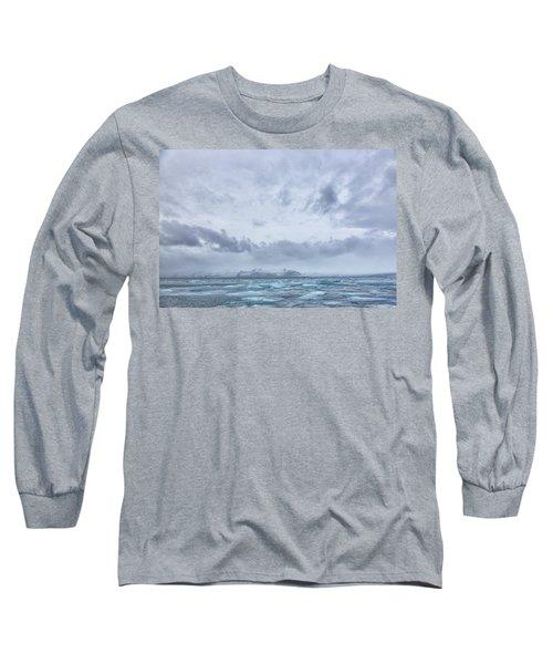 Glacial Lagoon Iceland Long Sleeve T-Shirt