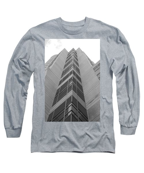 Long Sleeve T-Shirt featuring the photograph Glass Tower by Rob Hans
