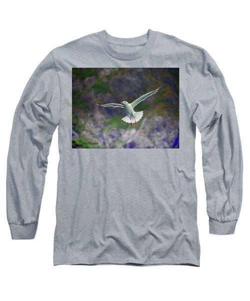 Glaucous-winged Gull Long Sleeve T-Shirt