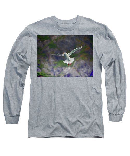 Glaucous-winged Gull Long Sleeve T-Shirt