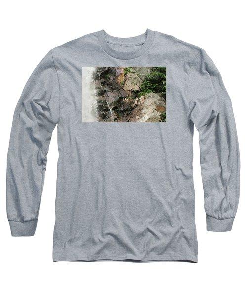 Glen Falls Abstract Long Sleeve T-Shirt