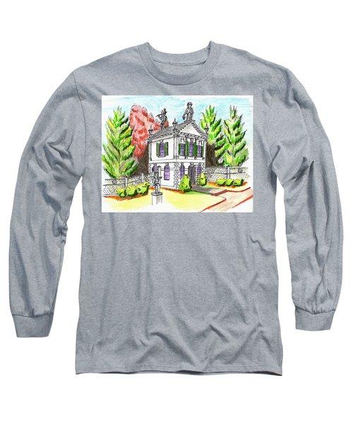 Glen Magna Farms- Derby House 2 Long Sleeve T-Shirt by Paul Meinerth