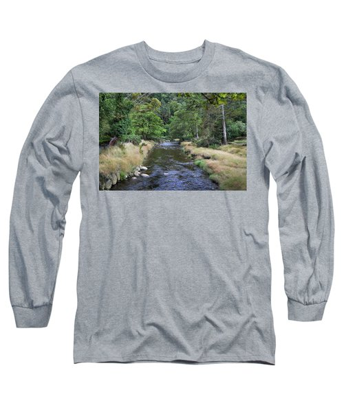 Long Sleeve T-Shirt featuring the photograph Glendasan River. by Terence Davis