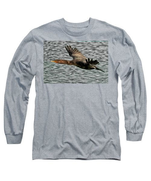 Gliding Cormorant Long Sleeve T-Shirt
