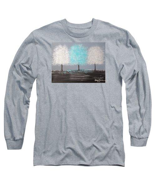 Glistening Morning Long Sleeve T-Shirt