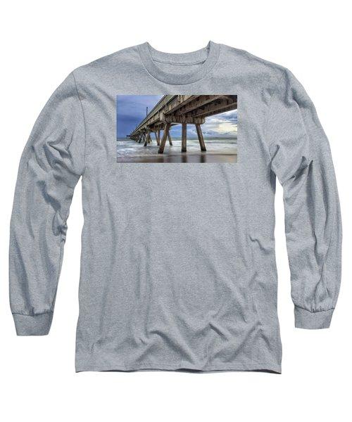 Gloomy Pier Long Sleeve T-Shirt