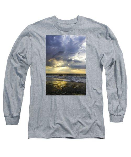Glorious Beginning Long Sleeve T-Shirt by Elizabeth Eldridge