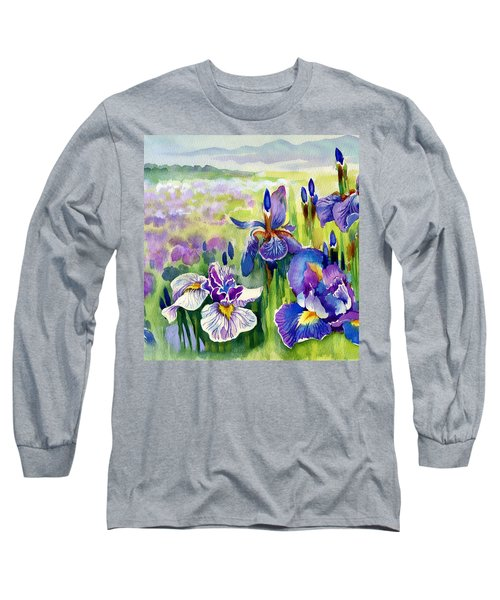 Glorious Hand Of God Long Sleeve T-Shirt by Karen Showell
