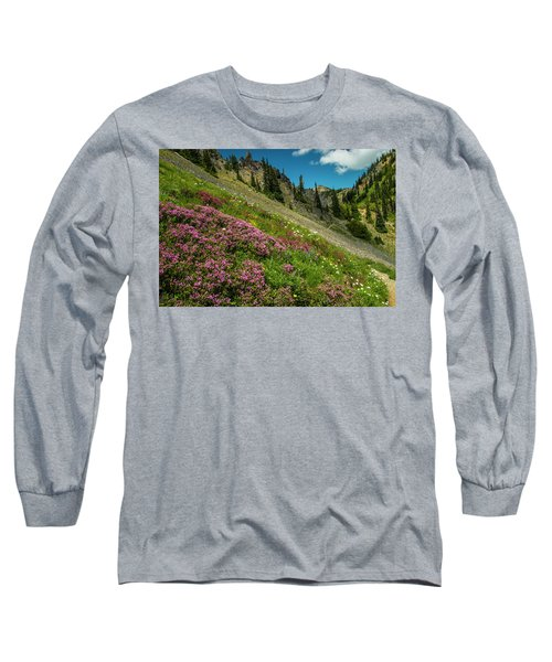 Glorious Mountain Heather Long Sleeve T-Shirt