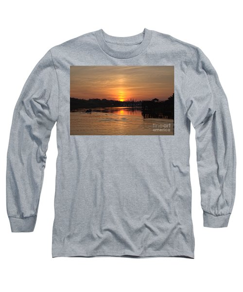 Glory Of The Morning On The Water Long Sleeve T-Shirt