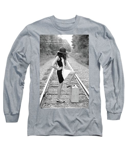 Long Sleeve T-Shirt featuring the photograph Go Far by Barbara West