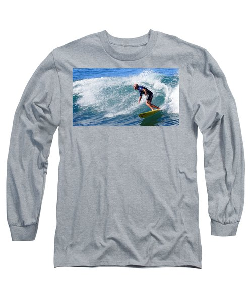 Long Sleeve T-Shirt featuring the photograph Go For It 001 by Kevin Chippindall