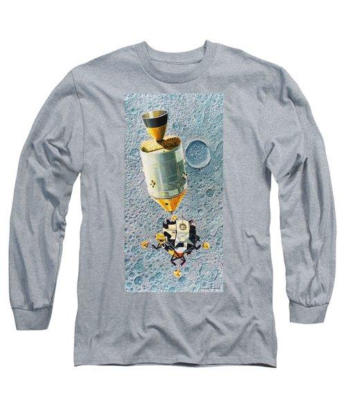 Go For Landing Long Sleeve T-Shirt by Douglas Castleman