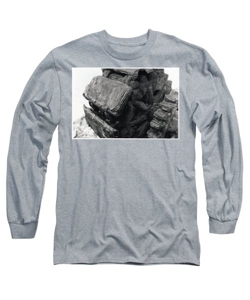 Goat Rock Tractor Tread Jenner California Long Sleeve T-Shirt