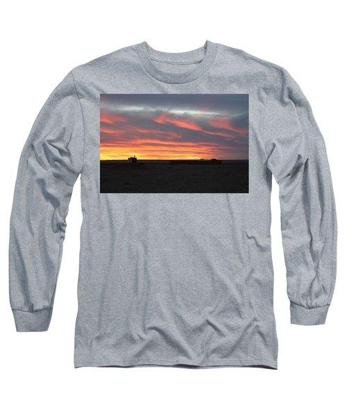 Gobi Sunset Long Sleeve T-Shirt by Diane Height