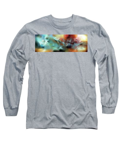 God Is Awesome And Glorious. Isaiah 57 15 Long Sleeve T-Shirt by Mark Lawrence