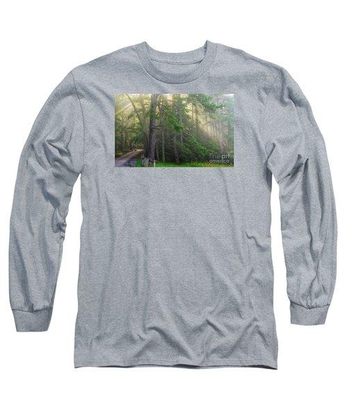 God's Light Long Sleeve T-Shirt by Geraldine DeBoer