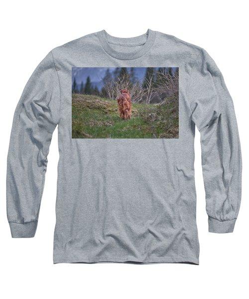 Going Home Long Sleeve T-Shirt by Robert Krajnc