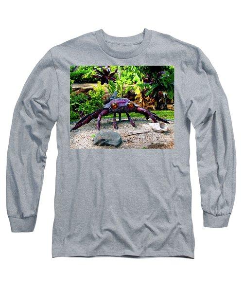 Going Piggyback On A Crab Long Sleeve T-Shirt