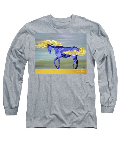 Going With The Flow Long Sleeve T-Shirt