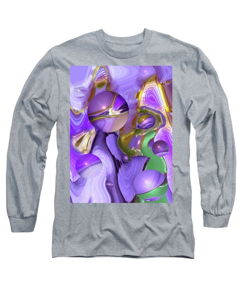 Orbs Of Light - Abstract Iris Marbles Long Sleeve T-Shirt
