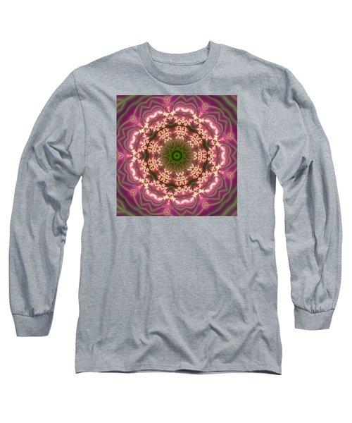 Long Sleeve T-Shirt featuring the digital art Gold 2 by Robert Thalmeier