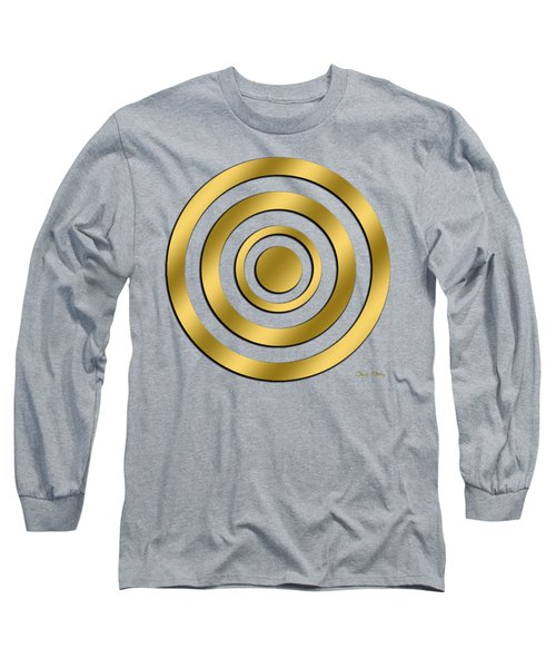 Gold Circles Long Sleeve T-Shirt