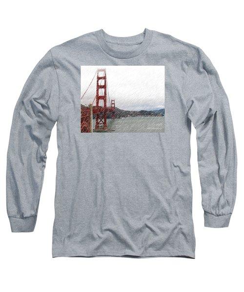 Golde Gate Rain Long Sleeve T-Shirt