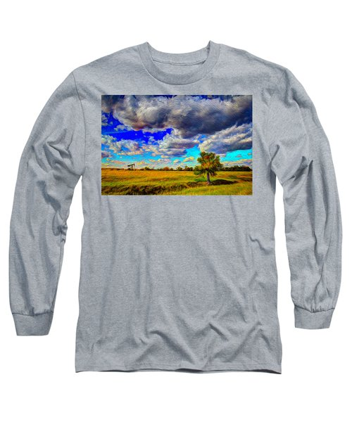 Golden Afternoon Long Sleeve T-Shirt