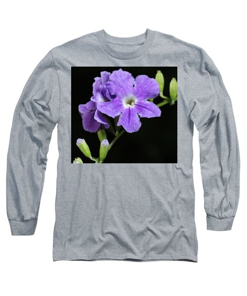 Long Sleeve T-Shirt featuring the photograph Golden Dewdrop II by Richard Rizzo