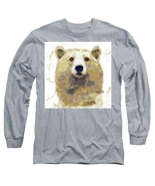Golden Forest Bear Long Sleeve T-Shirt