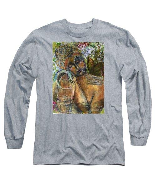 Golden Garden Long Sleeve T-Shirt by Gail Butters Cohen