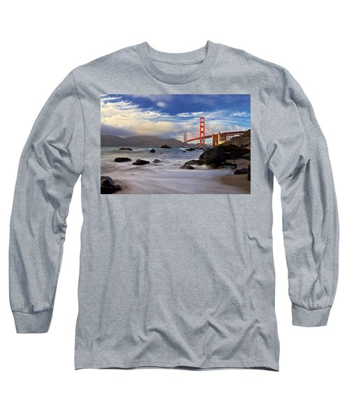 Long Sleeve T-Shirt featuring the photograph Golden Gate Bridge by Evgeny Vasenev