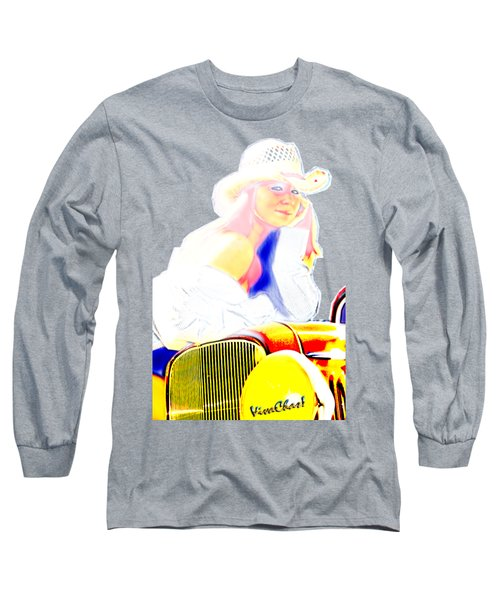 Golden Girl Makes With The Look Long Sleeve T-Shirt