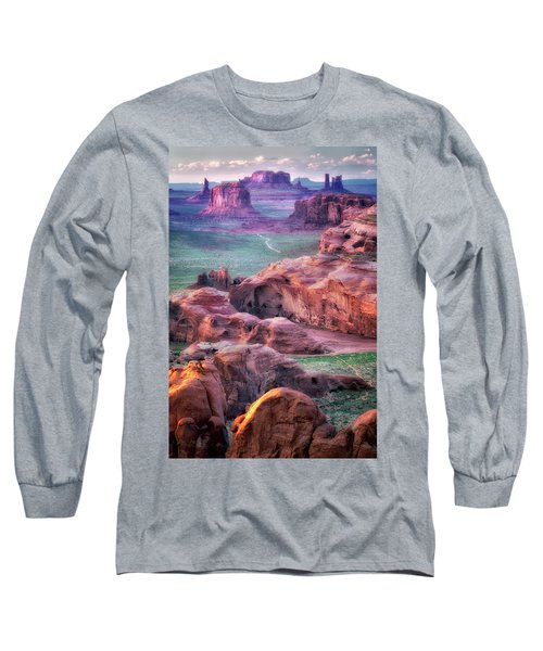 Golden Hour  Long Sleeve T-Shirt by Nicki Frates