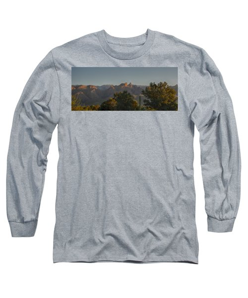 Long Sleeve T-Shirt featuring the photograph Golden Hour On Thimble Peak by Dan McManus