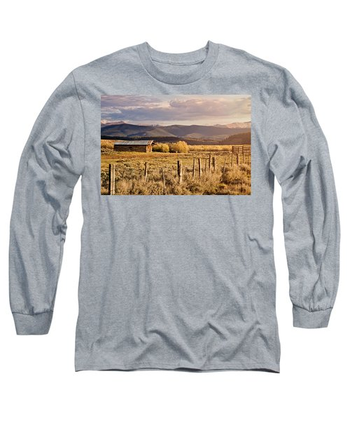 Long Sleeve T-Shirt featuring the photograph Golden Lonesome by Lana Trussell