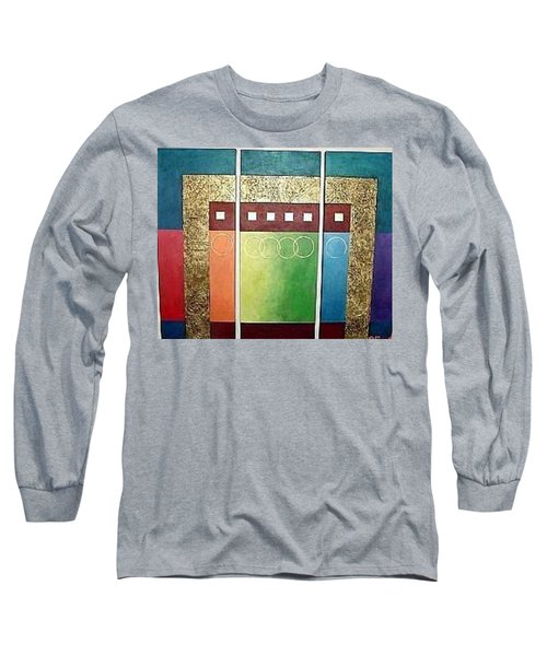 Golden Mesa Long Sleeve T-Shirt by Bernard Goodman