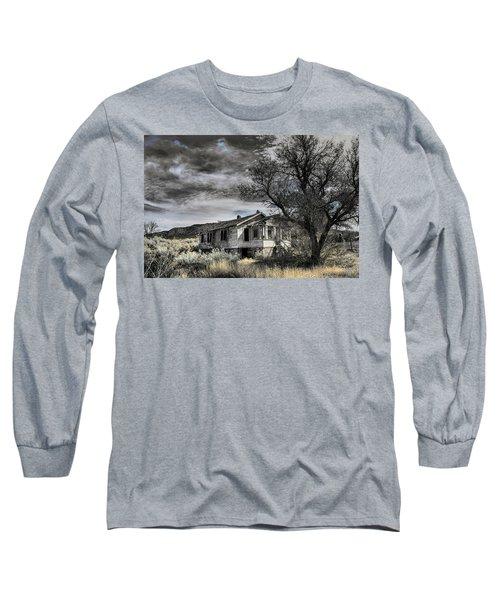 Golden New Mexico Long Sleeve T-Shirt by Robert FERD Frank