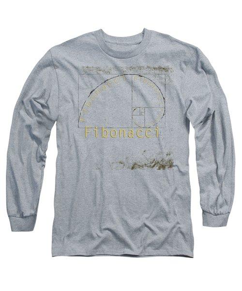 Golden Ratio Long Sleeve T-Shirt by Paulette B Wright