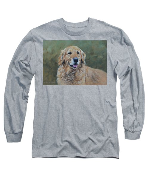 Golden Retriever Portrait Long Sleeve T-Shirt