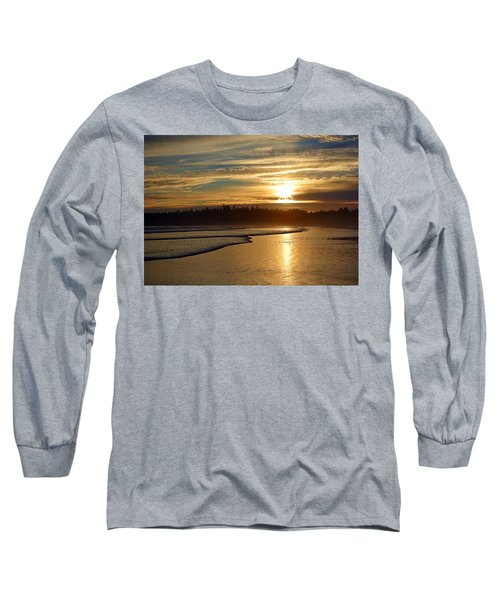 Long Beach, British Columbia Long Sleeve T-Shirt by Heather Vopni