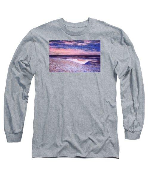 Golden Sea Long Sleeve T-Shirt by Jeanette Jarmon