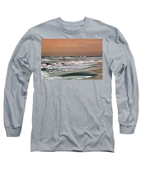Golden Shore Long Sleeve T-Shirt