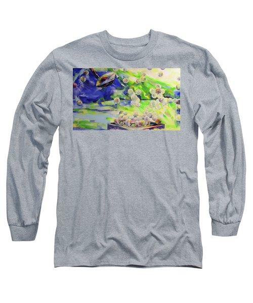 Golfbaelle In Huelle Und Fuelle   Golf Balls Galore Long Sleeve T-Shirt