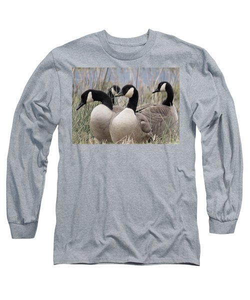 Gone Agandering Long Sleeve T-Shirt by I'ina Van Lawick