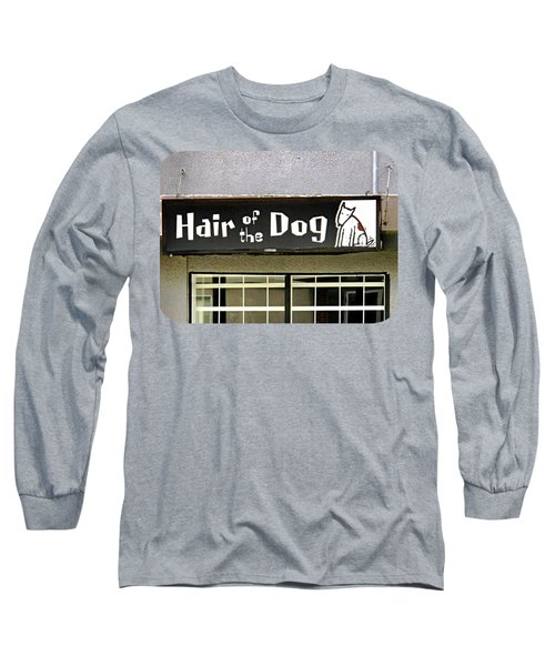 Gone To The Dogs Long Sleeve T-Shirt by Ethna Gillespie