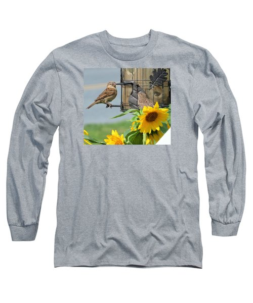 Good Morning Long Sleeve T-Shirt by Jeanette Oberholtzer