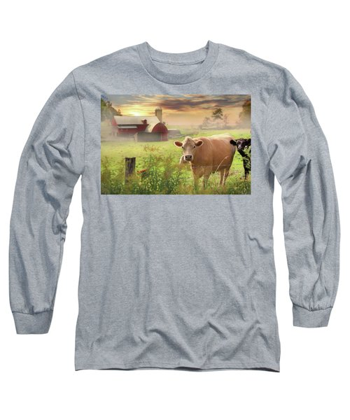 Long Sleeve T-Shirt featuring the photograph Good Morning by Lori Deiter